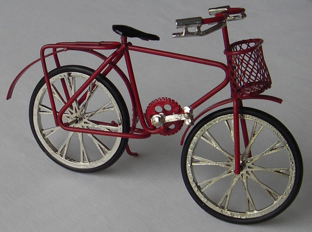 7 1239R Polkupyörä, miesten, punainen  Minimaailma nettikauppa